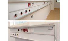 """""""Objektu 2"""" isporučeni zidni instalacijski paneli s dvostrukim šinama za montažu polica i ostale opreme"""